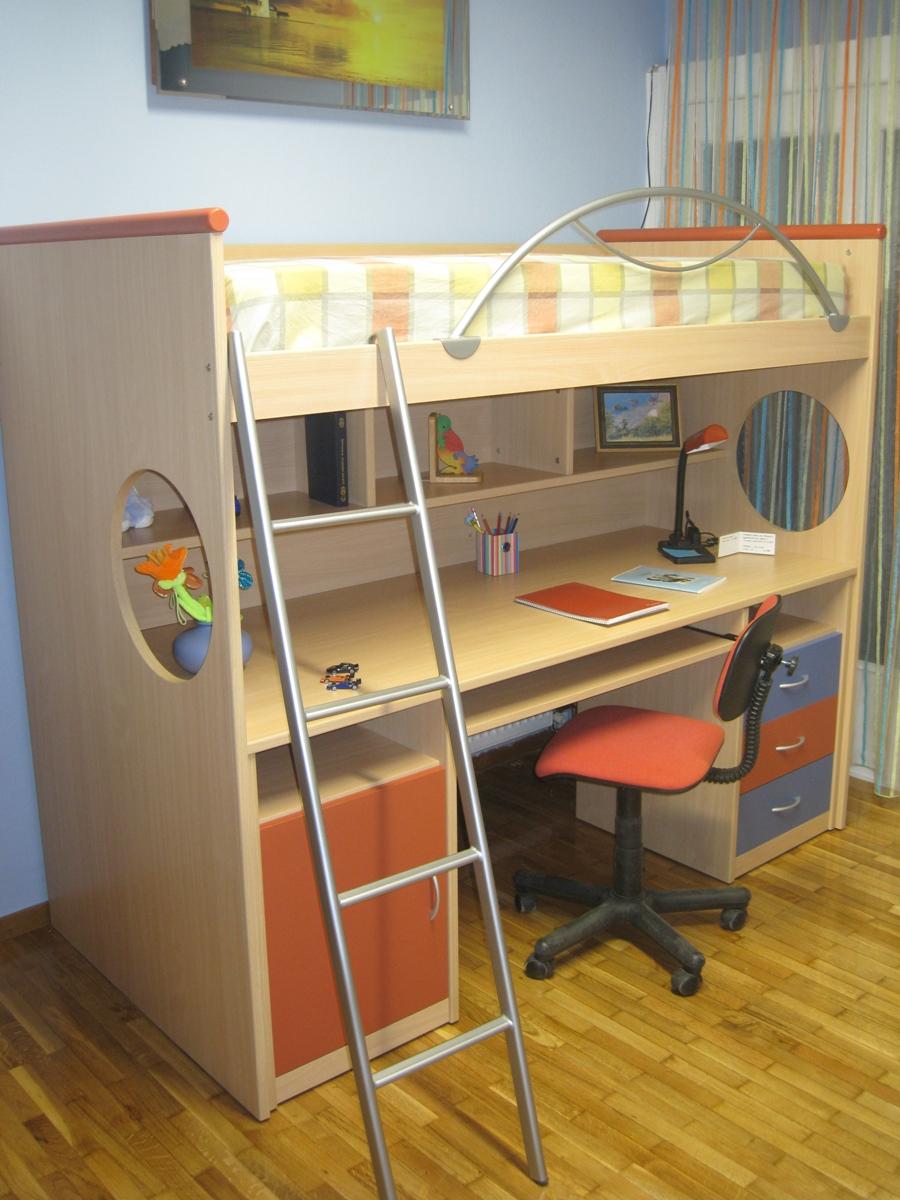 Queen Bunk Bed Desk